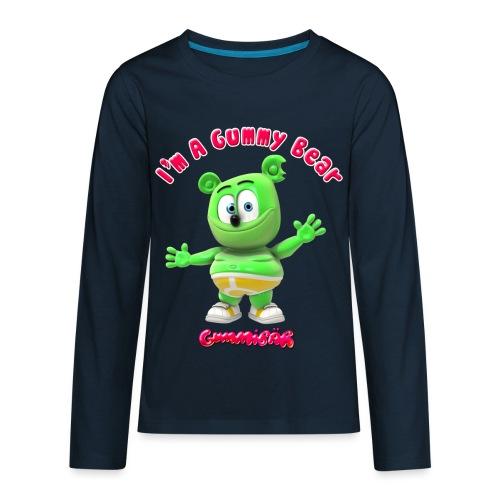 I'm A Gummy Bear - Kids' Premium Long Sleeve T-Shirt