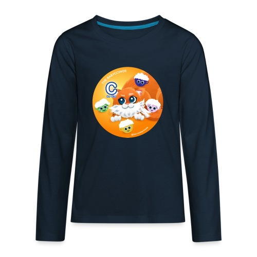 The Babyccinos The letter С - Kids' Premium Long Sleeve T-Shirt