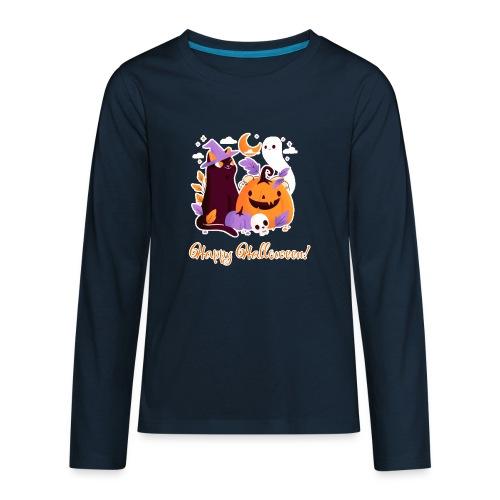 Halloween happy - Kids' Premium Long Sleeve T-Shirt