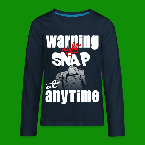Might Snap Photography - Kids' Premium Long Sleeve T-Shirt