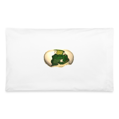 The Emerald Dragon of Nital - Pillowcase