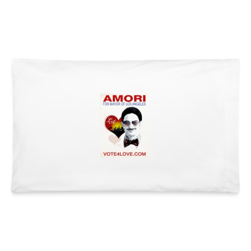 Amori for Mayor of Los Angeles eco friendly shirt - Pillowcase