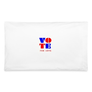 vote4love-sample - Pillowcase