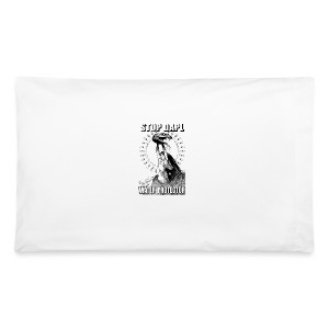 STOP DAPL Water Protector - Pillowcase