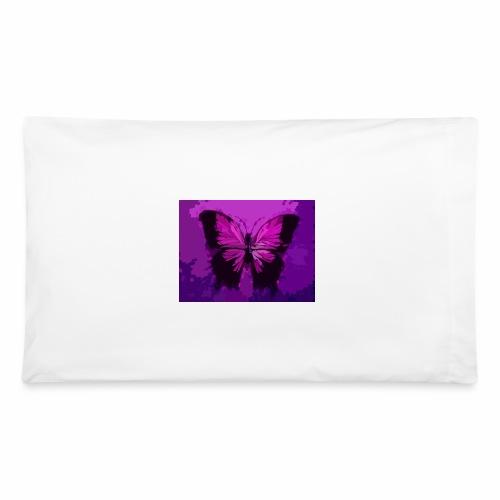 Fuchsia Pink Butterfly - Pillowcase