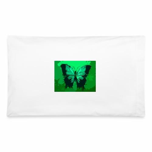 Light Green Butterfly - Pillowcase