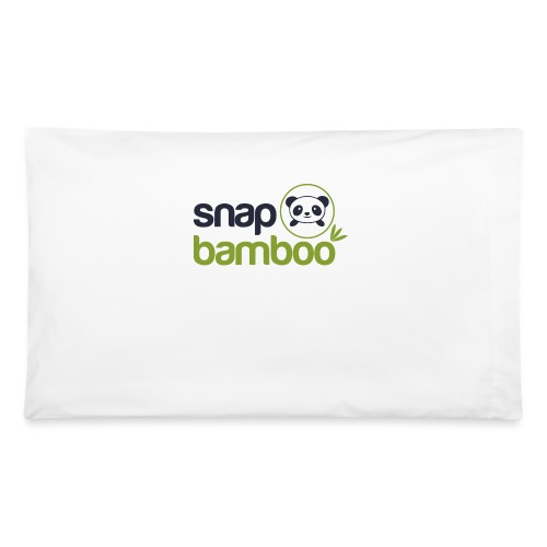 Snap Bamboo Square Logo Branded - Pillowcase 32'' x 20''
