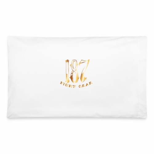 187 Fight Gear Gold Logo Street Wear - Pillowcase 32'' x 20''