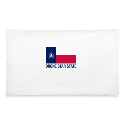 Drone Star State - Long Sleeve - Pillowcase 32'' x 20''