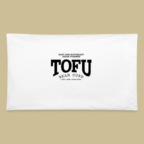 Tofu (black) - Pillowcase 32'' x 20''