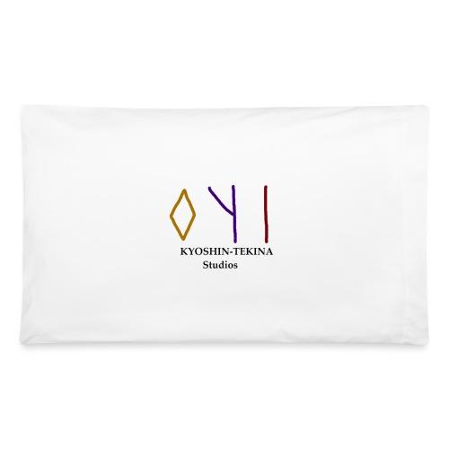 Kyoshin-Tekina Studios logo (black test) - Pillowcase 32'' x 20''