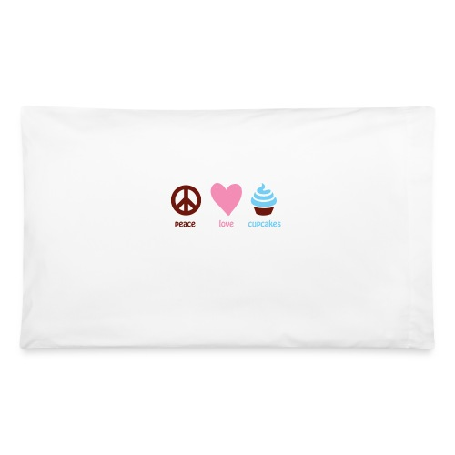peacelovecupcakes pixel - Pillowcase 32'' x 20''