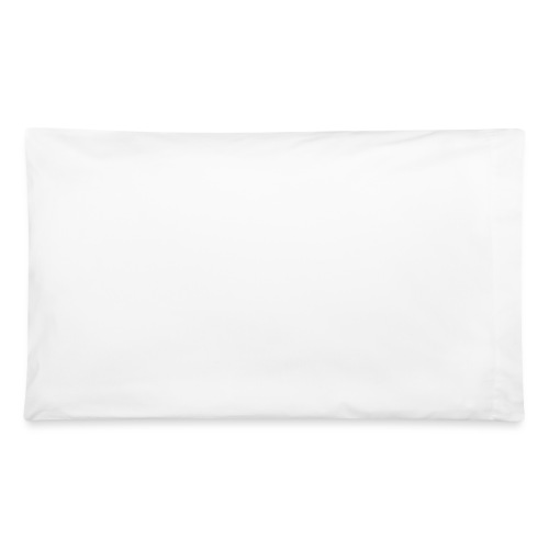 KBD Signature_blanc - Pillowcase 32'' x 20''
