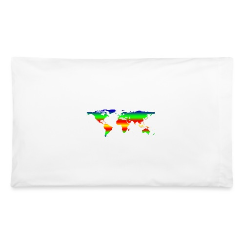 colorful world - Pillowcase 32'' x 20''