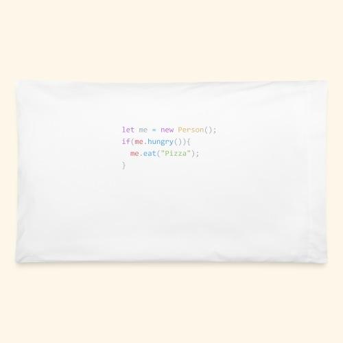 Pizza Code - Colored Version - Pillowcase 32'' x 20''