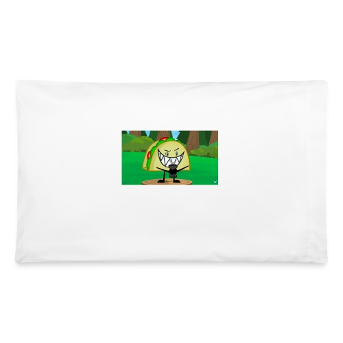 EVIL TACO ha - Pillowcase 32'' x 20''