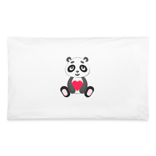 Sweetheart Panda - Pillowcase 32'' x 20''