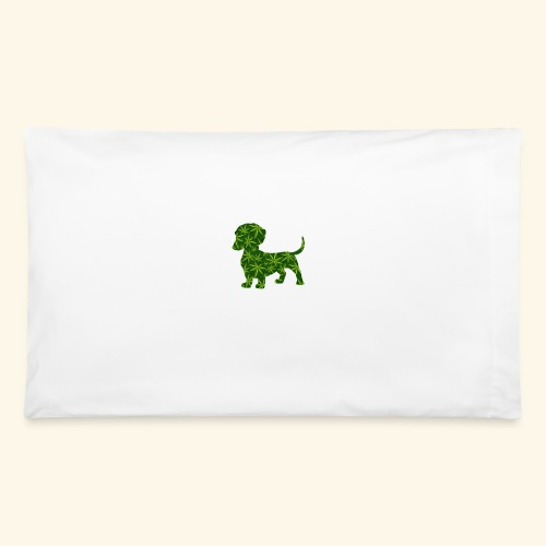 PUFFY DOG - PRESENT FOR SMOKING DOGLOVER - Pillowcase 32'' x 20''