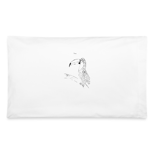 Stephen's hand drawn Toucan - Pillowcase 32'' x 20''