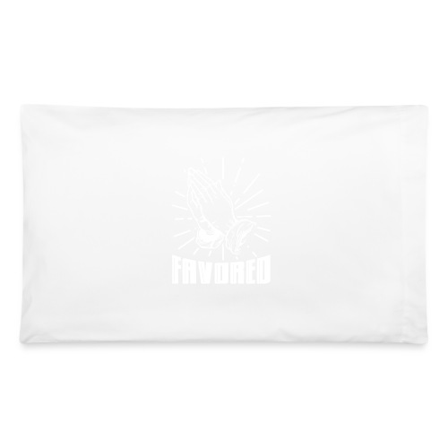 Favored - Alt. Design (White Letters) - Pillowcase 32'' x 20''