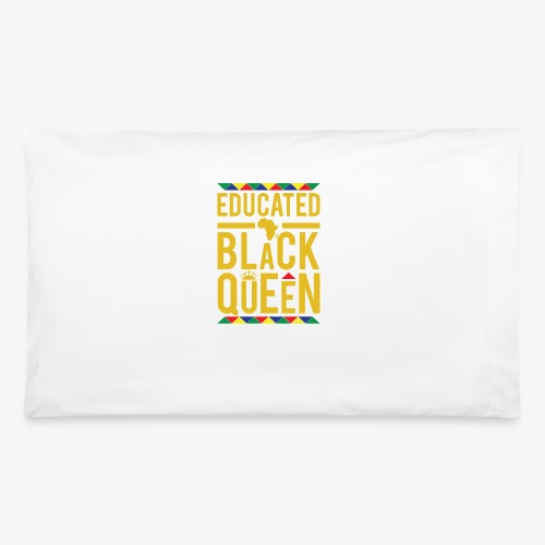 Educated Black Queen - Pillowcase 32'' x 20''