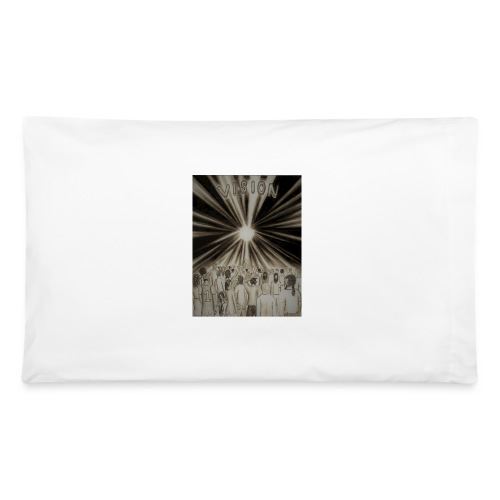 Black_and_White_Vision2 - Pillowcase 32'' x 20''