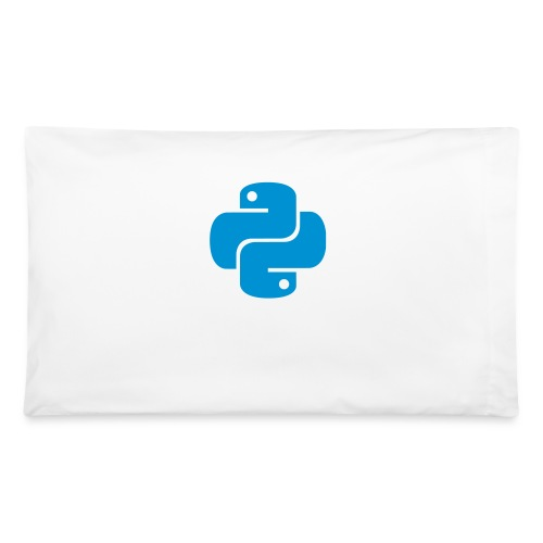 Python Logo - Pillowcase 32'' x 20''