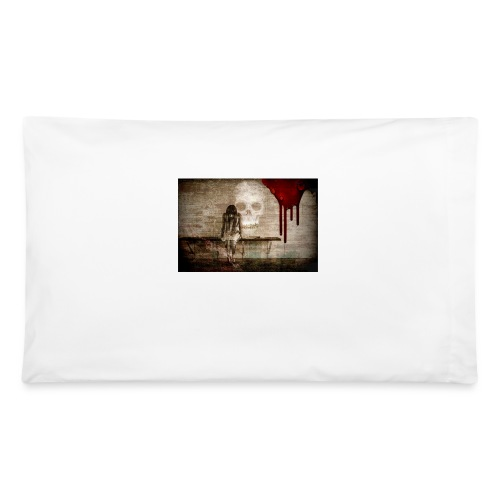 sad girl - Pillowcase 32'' x 20''
