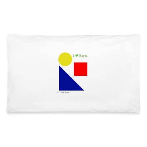 Hi I'm Ronald Seegers Collection-I Love Shapes - Pillowcase 32'' x 20''