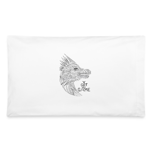 "Dragon ""you got game"" - Pillowcase 32'' x 20''"