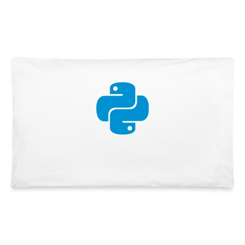 Python Logo - Pillowcase 32'' x 20''