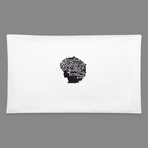 Afro Text II - Pillowcase 32'' x 20''