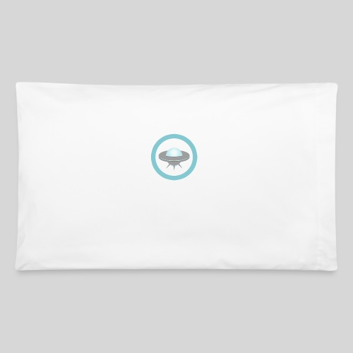 ALIENS WITH WIGS - Small UFO - Pillowcase 32'' x 20''