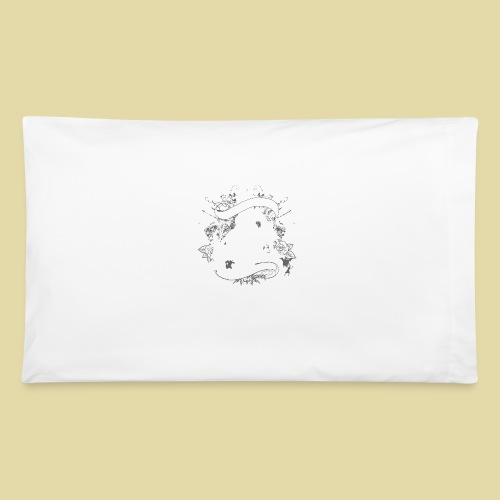 hoh_tshirt_skullhouse - Pillowcase 32'' x 20''