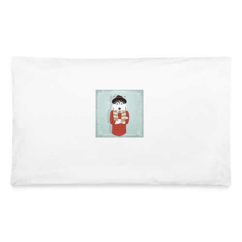 Hispter Dog - Pillowcase 32'' x 20''