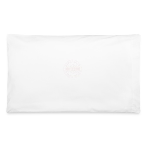 ISO Co. White Classic Emblem - Pillowcase 32'' x 20''