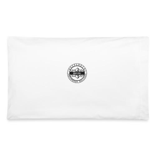 ISO Co. Black Classic Emblem - Pillowcase 32'' x 20''