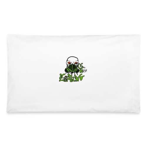 Leaking Gas Mask - Pillowcase 32'' x 20''