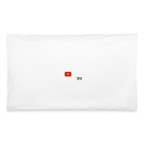 Flip It White Design T-Shirt - Back Flip Inverted - Pillowcase 32'' x 20''