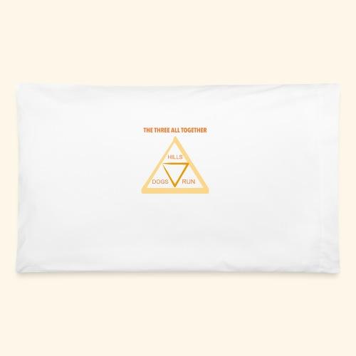 Run4Dogs Triangle - Pillowcase 32'' x 20''