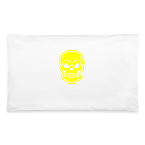 Skull vector yellow - Pillowcase 32'' x 20''