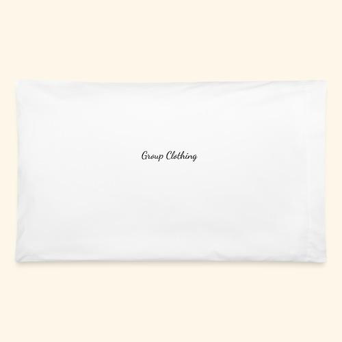 Cursive Black and White Hoodie - Pillowcase 32'' x 20''