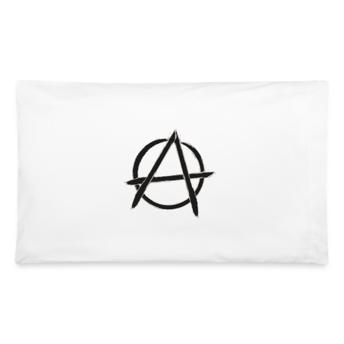 Anarchy in black silver - Pillowcase 32'' x 20''