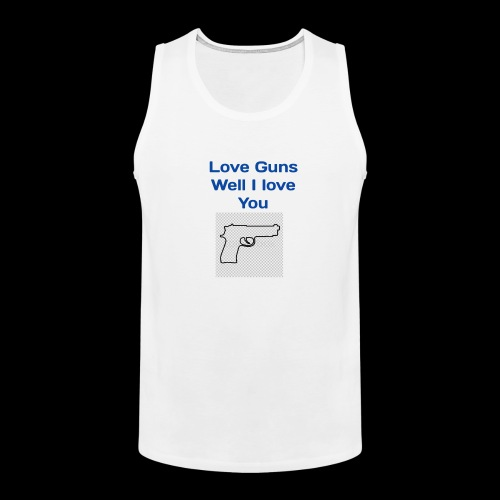 Love Guns - Men's Premium Tank