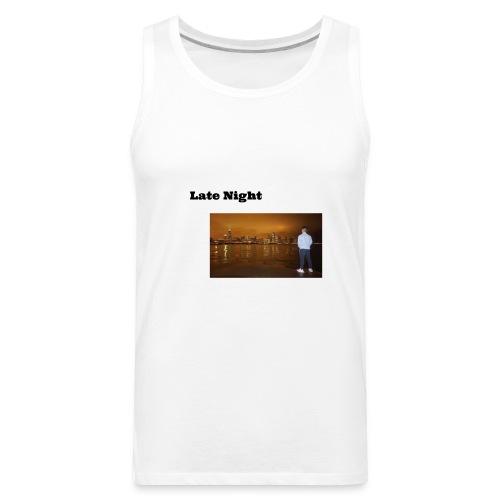 Late Night - Men's Premium Tank