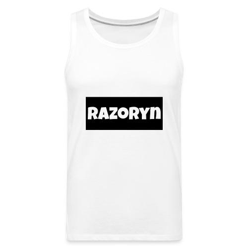Razoryn Plain Shirt - Men's Premium Tank
