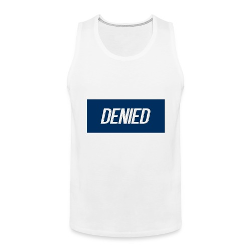DENIED blauw - Men's Premium Tank