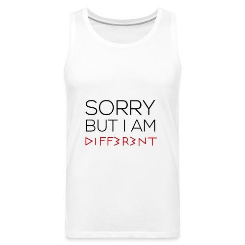 I'm different t-shirt 2018 - Men's Premium Tank