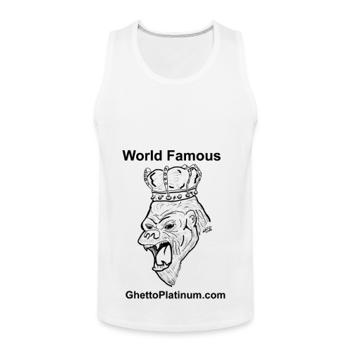 T-shirt-worldfamousForilla2tight - Men's Premium Tank