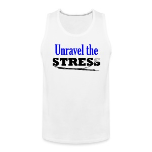 Unravel the Stress - Men's Premium Tank